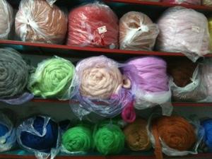 20 kg bags of Oz/NZ 100% wool rolag